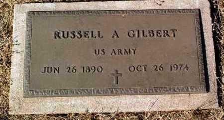 GILBERT, RUSSELL A. - Yavapai County, Arizona | RUSSELL A. GILBERT - Arizona Gravestone Photos