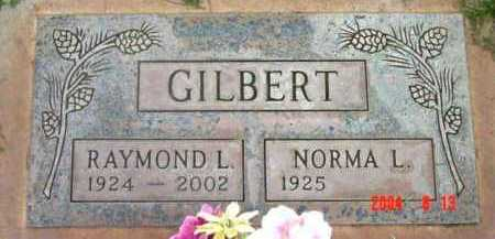 GILBERT, RAYMOND L. - Yavapai County, Arizona | RAYMOND L. GILBERT - Arizona Gravestone Photos