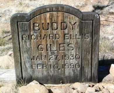 GILES, RICHARD ELLIS - Yavapai County, Arizona | RICHARD ELLIS GILES - Arizona Gravestone Photos