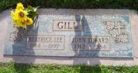 GILL, JOHN EDWARD - Yavapai County, Arizona   JOHN EDWARD GILL - Arizona Gravestone Photos