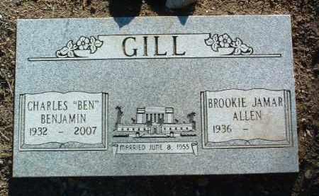 ALLEN GILL, BROOKIE JAMAR - Yavapai County, Arizona | BROOKIE JAMAR ALLEN GILL - Arizona Gravestone Photos