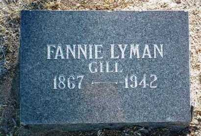 LYMAN, FANNIE - Yavapai County, Arizona | FANNIE LYMAN - Arizona Gravestone Photos