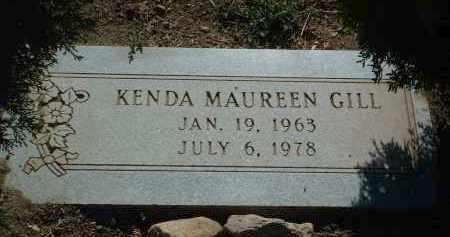 GILL, KENDA MAUREEN - Yavapai County, Arizona | KENDA MAUREEN GILL - Arizona Gravestone Photos