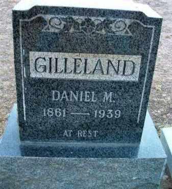 GILLELAND, DANIEL MOSES - Yavapai County, Arizona   DANIEL MOSES GILLELAND - Arizona Gravestone Photos