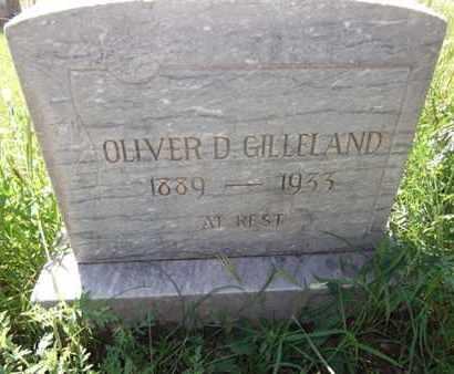 GILLELAND, DANIEL OLIVER - Yavapai County, Arizona | DANIEL OLIVER GILLELAND - Arizona Gravestone Photos