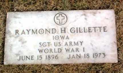 GILLETTE, RAYMOND H. - Yavapai County, Arizona | RAYMOND H. GILLETTE - Arizona Gravestone Photos