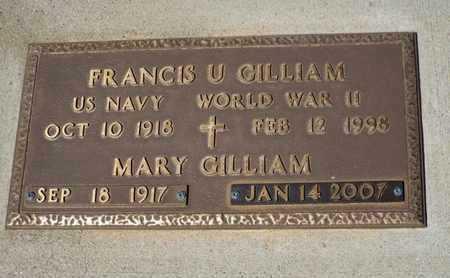GILLIAM, FRANCIS U. - Yavapai County, Arizona | FRANCIS U. GILLIAM - Arizona Gravestone Photos