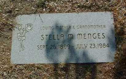 MENGES, STELLA M. - Yavapai County, Arizona | STELLA M. MENGES - Arizona Gravestone Photos