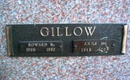 GILLOW, HOWARD R. - Yavapai County, Arizona | HOWARD R. GILLOW - Arizona Gravestone Photos