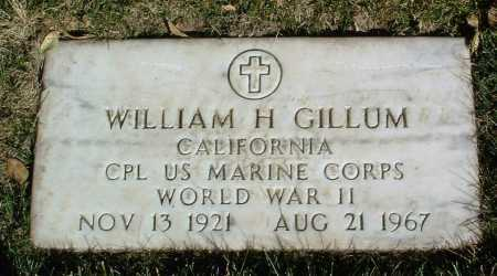 GILLUM, WILLIAM H. - Yavapai County, Arizona | WILLIAM H. GILLUM - Arizona Gravestone Photos