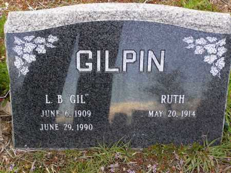 GILPIN, JESSIE RUTH - Yavapai County, Arizona | JESSIE RUTH GILPIN - Arizona Gravestone Photos