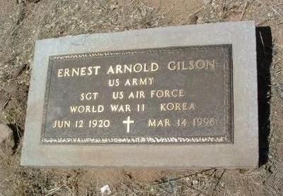 GILSON, ERNEST ARNOLD - Yavapai County, Arizona | ERNEST ARNOLD GILSON - Arizona Gravestone Photos