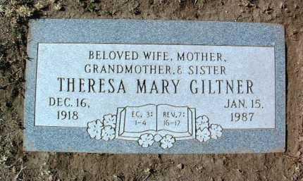 GILTNER, THERESA MARY - Yavapai County, Arizona | THERESA MARY GILTNER - Arizona Gravestone Photos