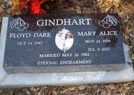 GINDHART, MARY ALICE - Yavapai County, Arizona   MARY ALICE GINDHART - Arizona Gravestone Photos