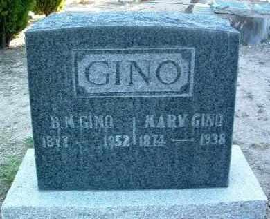 GINO, BARNEY M. - Yavapai County, Arizona | BARNEY M. GINO - Arizona Gravestone Photos