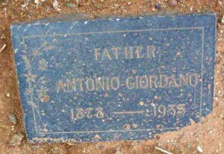 GIORDANO, ANTONIO - Yavapai County, Arizona | ANTONIO GIORDANO - Arizona Gravestone Photos