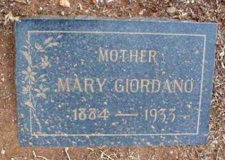 GIORDANO, MARY - Yavapai County, Arizona | MARY GIORDANO - Arizona Gravestone Photos