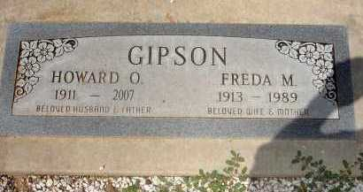 GIPSON, HOWARD ODIS - Yavapai County, Arizona | HOWARD ODIS GIPSON - Arizona Gravestone Photos