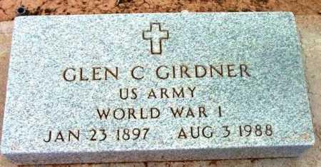GIRDNER, GLEN C. - Yavapai County, Arizona | GLEN C. GIRDNER - Arizona Gravestone Photos