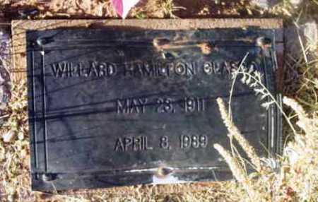 GLASCO, WILLARD HAMILTON - Yavapai County, Arizona   WILLARD HAMILTON GLASCO - Arizona Gravestone Photos