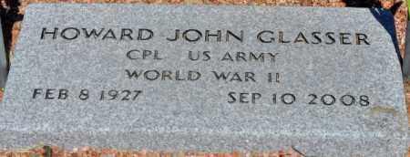 GLASSER, HOWARD JOHN - Yavapai County, Arizona | HOWARD JOHN GLASSER - Arizona Gravestone Photos
