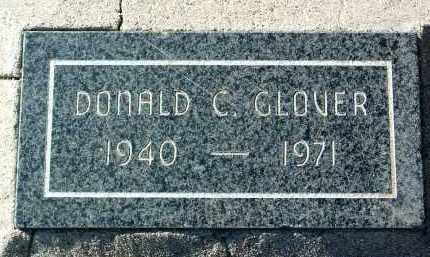 GLOVER, DONALD CHARLES - Yavapai County, Arizona | DONALD CHARLES GLOVER - Arizona Gravestone Photos