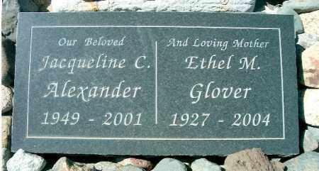 GLOVER, ETHEL M - Yavapai County, Arizona | ETHEL M GLOVER - Arizona Gravestone Photos