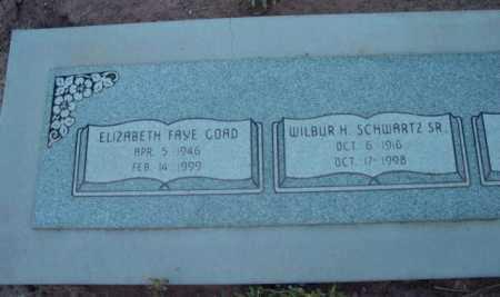 SCHWARTZ, WILBUR H., SR. - Yavapai County, Arizona   WILBUR H., SR. SCHWARTZ - Arizona Gravestone Photos