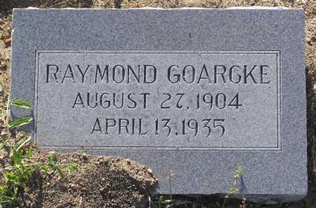 GOARCKE, RAYMOND - Yavapai County, Arizona   RAYMOND GOARCKE - Arizona Gravestone Photos