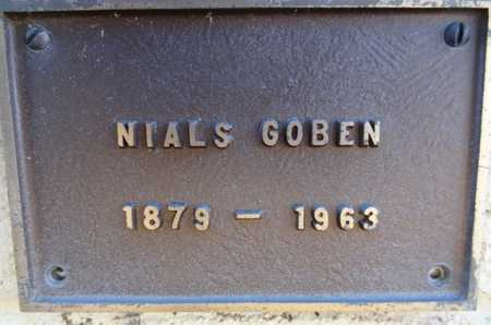 GOBEN, NIALS - Yavapai County, Arizona | NIALS GOBEN - Arizona Gravestone Photos