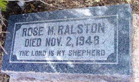 GODAC RALSTON, ROSE M. - Yavapai County, Arizona | ROSE M. GODAC RALSTON - Arizona Gravestone Photos