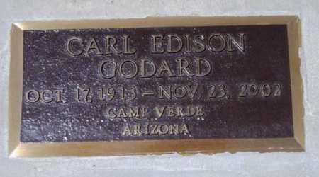 GODARD, CARL EDISON - Yavapai County, Arizona | CARL EDISON GODARD - Arizona Gravestone Photos