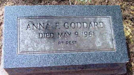 GODDARD, ANNA FRANCES - Yavapai County, Arizona | ANNA FRANCES GODDARD - Arizona Gravestone Photos