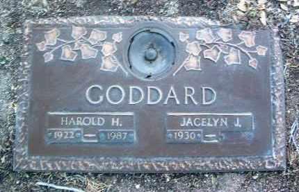 GODDARD, HAROLD H. - Yavapai County, Arizona | HAROLD H. GODDARD - Arizona Gravestone Photos