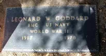 GODDARD, LEONARD WILLIAM - Yavapai County, Arizona | LEONARD WILLIAM GODDARD - Arizona Gravestone Photos