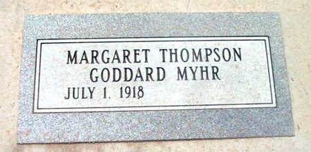 GODDARD, MARGARET - Yavapai County, Arizona | MARGARET GODDARD - Arizona Gravestone Photos