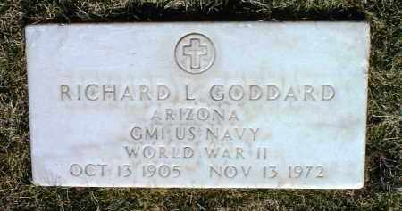 GODDARD, RICHARD L. - Yavapai County, Arizona | RICHARD L. GODDARD - Arizona Gravestone Photos