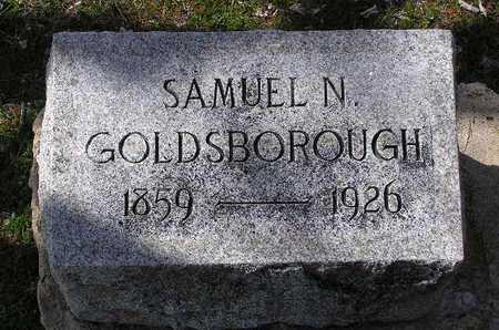 GOLDSBOROUGH, SAMUEL - Yavapai County, Arizona   SAMUEL GOLDSBOROUGH - Arizona Gravestone Photos