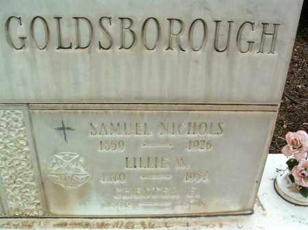 HULL GOLDSBOROUGH, L. - Yavapai County, Arizona | L. HULL GOLDSBOROUGH - Arizona Gravestone Photos