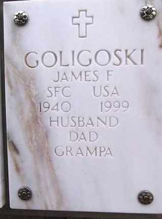 GOLIGOSKI, JAMES FRANK - Yavapai County, Arizona   JAMES FRANK GOLIGOSKI - Arizona Gravestone Photos