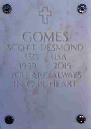 GOMES, SCOTT DESMOND - Yavapai County, Arizona | SCOTT DESMOND GOMES - Arizona Gravestone Photos