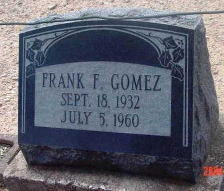 GOMEZ, FRANK F. - Yavapai County, Arizona   FRANK F. GOMEZ - Arizona Gravestone Photos