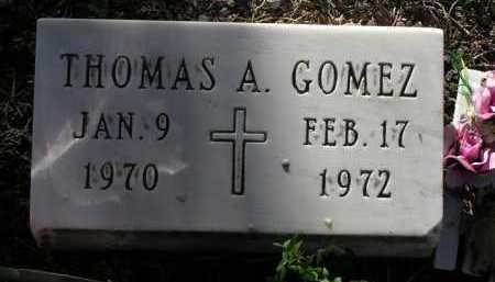 GOMEZ, THOMAS A. - Yavapai County, Arizona   THOMAS A. GOMEZ - Arizona Gravestone Photos