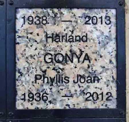 POLCYN GONYA, PHYLLIS J. - Yavapai County, Arizona | PHYLLIS J. POLCYN GONYA - Arizona Gravestone Photos