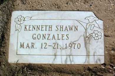 GONZALES, KENNETH SHAWN - Yavapai County, Arizona | KENNETH SHAWN GONZALES - Arizona Gravestone Photos