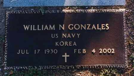 GONZALES, WILLIAM N. - Yavapai County, Arizona | WILLIAM N. GONZALES - Arizona Gravestone Photos