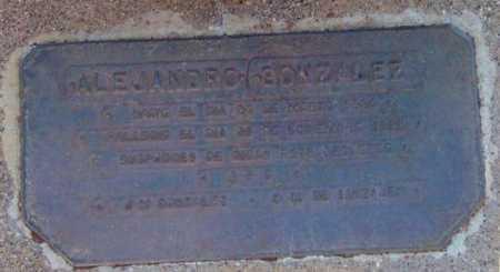 GONZALEZ, ALEJANDRO - Yavapai County, Arizona | ALEJANDRO GONZALEZ - Arizona Gravestone Photos