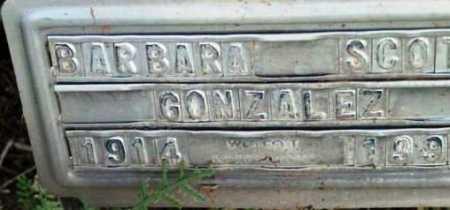 GONZALEZ, BARBARA - Yavapai County, Arizona | BARBARA GONZALEZ - Arizona Gravestone Photos