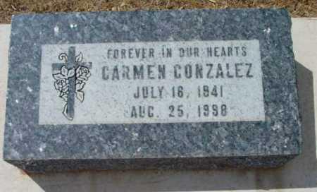 GONZALEZ, CARMEN - Yavapai County, Arizona   CARMEN GONZALEZ - Arizona Gravestone Photos