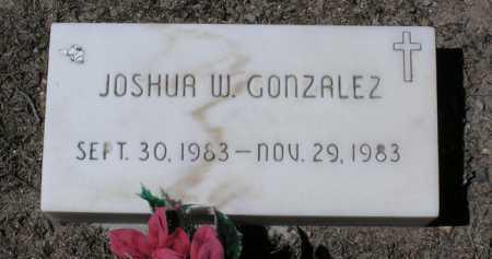 GONZALEZ, JOSHUA W. - Yavapai County, Arizona | JOSHUA W. GONZALEZ - Arizona Gravestone Photos